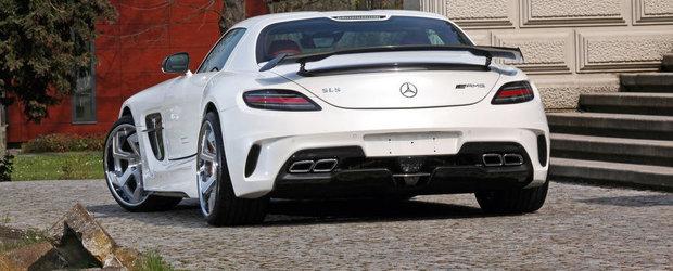 Tuning cu iz de Black Series pentru supercarul Mercedes SLS AMG