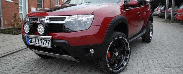 Tuning Dacia Duster: nemtii de la LZParts au realizat cel mai extrem Duster din lume