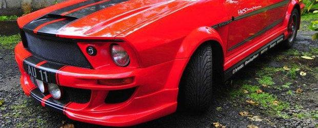 Tuning Dacia: we are the kitschy cars! Dacia Eleanor Muscle-Car
