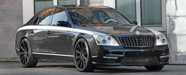 Tuning de $1 milion: posesorii de Maybach isi pot transforma limuzinele in... carbon