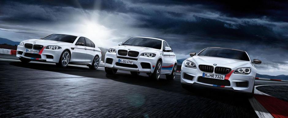 Tuning de fabrica: Noile BMW M5 si M6 primesc tratamentul M Performance