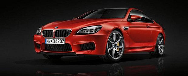Tuning de fabrica: Noul BMW M6 ofera 600 CP cu pachetul Competition