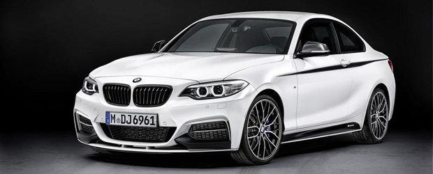 Tuning de fabrica: Noul BMW Seria 2 Coupe primeste tratamentul M Performance