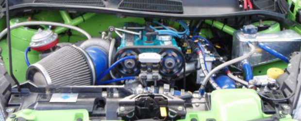 Tuning dus la extrem: Ford Fiesta de 550 cai putere!