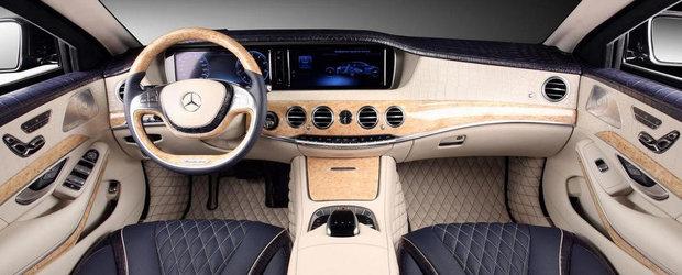 Tuning excentric pentru primul Mercedes S-Class blindat din Rusia