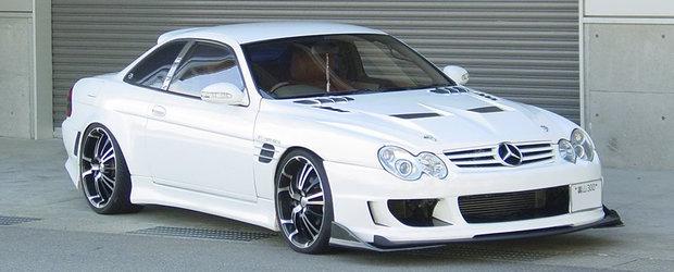 Tuning extrem: Mercedes sau... aparentele insala?