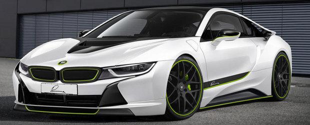 Tuning extrem pentru noile BMW i3 si BMW i8. Care este preferatul tau?