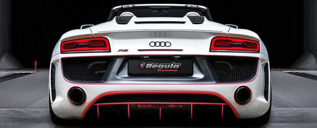 Tuning fara Reguli: Germanii modifica radical noul Audi R8 Spyder