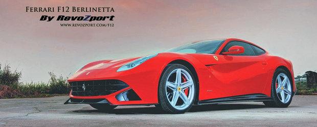 Tuning Ferrari: Accesorii din carbon pentru noul F12 Berlinetta