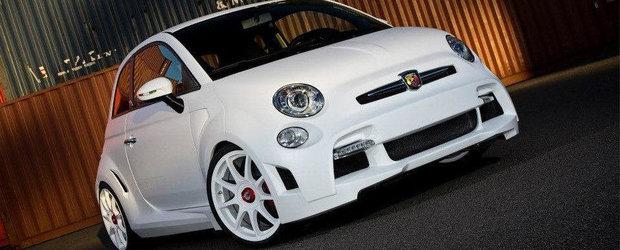 Tuning Fiat: Zender prezinta conceptul Abarth 500 Corsa Stradale
