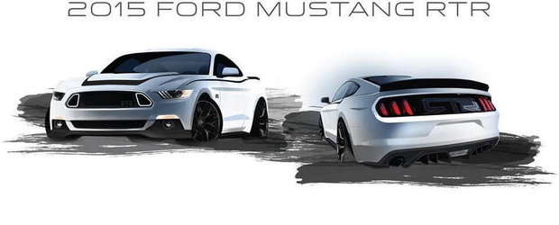 Tuning Ford: Noul Mustang RTR debuteaza in toamna, la SEMA Show