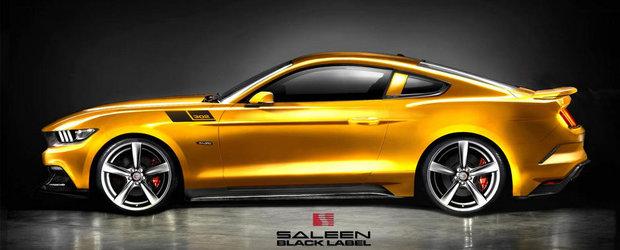 Tuning Ford: Noul Saleen 302 e un Mustang GT cu 640 CP sub capota