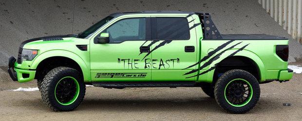 Tuning Ford Raptor: GeigerCars dezlantuie... Bestia