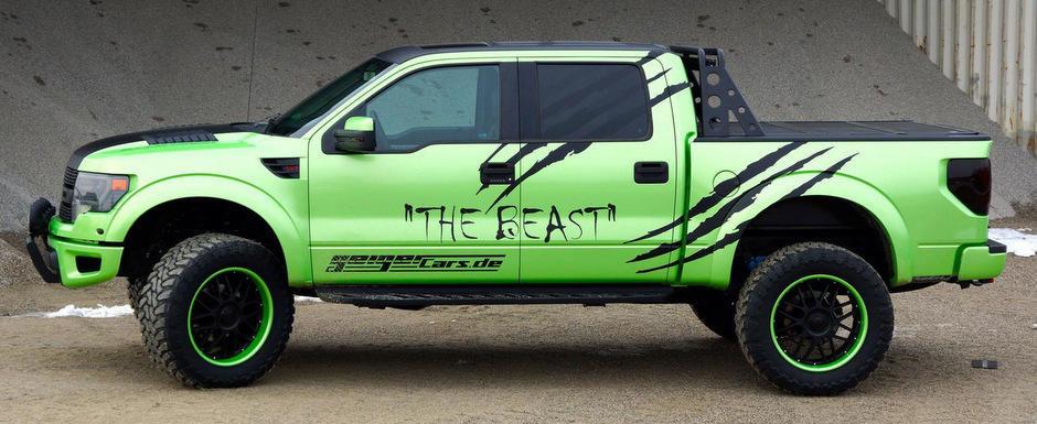 Tuning Ford Raptor: GeigerCars dezlantuie    Bestia
