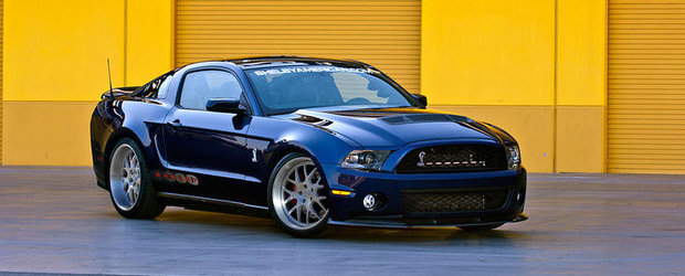Tuning Ford: Shelby vinde mai nou si-un Mustang de peste 1.000 cai putere