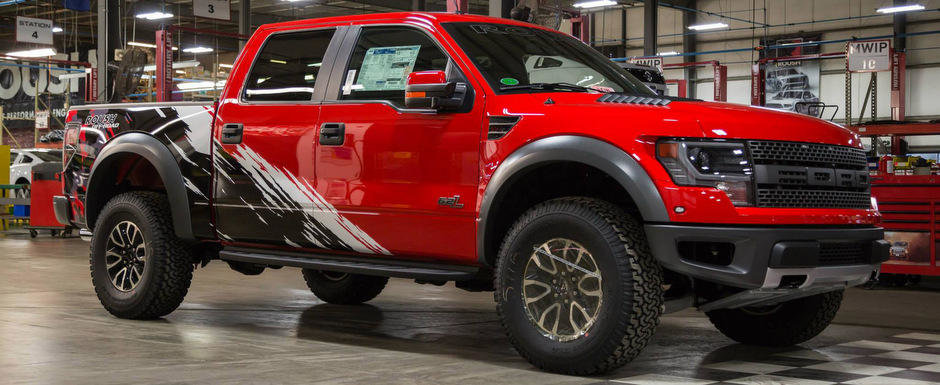 Tuning Ford SVT Raptor: Roush prezinta camioneta cu 600 cai putere sub capota