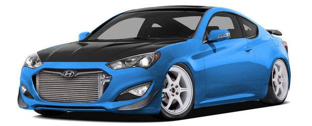 Tuning Hyundai: Bisimoto pregateste un Genesis Coupe de 1.000 CP pentru SEMA 2013