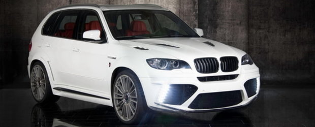 Tuning in premiera : Mansory modifica noul BMW X5 M!