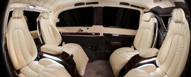 Tuning Interior: Mercedes Vito VIP by Vilner sau cum sa transformi un van intr-o limuzina de mare lux
