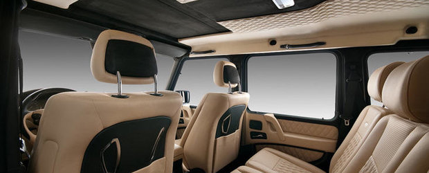 Tuning Interior: Vilner rafineaza legendarul Mercedes G-Class