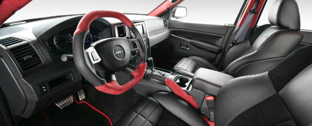 Tuning Interior: Vilner revitalizeaza proiectul Jeep Grand Cherokee SRT600