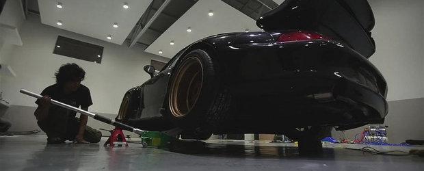 Tuning la superlativ: Povestea unui Porsche 993 modificat de RWB