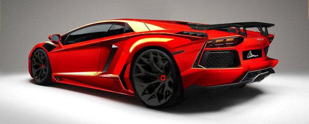 Tuning Lamborghini: ASMA se pregateste de modificat noul Aventador LP700-4