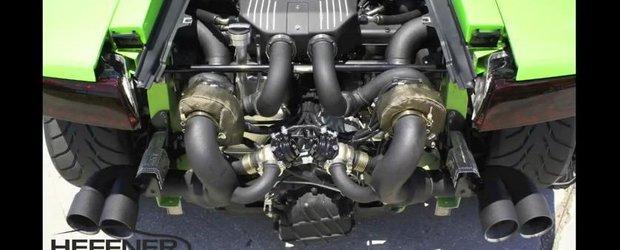 Tuning Lamborghini: cum arata si cum se aude un Gallardo de aproape 1000 de cp