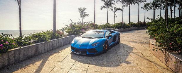 Tuning Lamborghini: Noul DMC LP900 Molto Veloce ni se arata in albastru mat