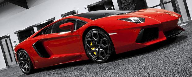 Tuning Lamborghini: Project Kahn atinge subtil noul Aventador LP700-4