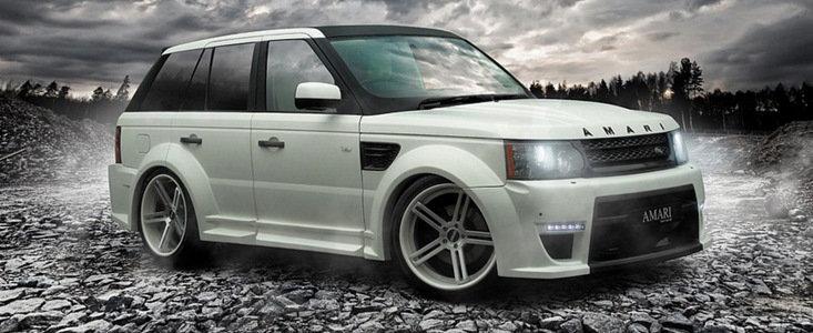 Tuning Land Rover: Amari modifica noul Range Rover Sport