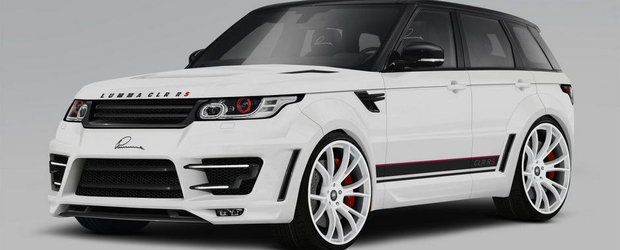 Tuning Land Rover: Lumma Design isi lasa amprenta si asupra noului Range Rover Sport