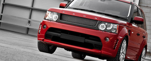Tuning Land Rover: Project Kahn dezvaluie noul Range Rover Red Ranger