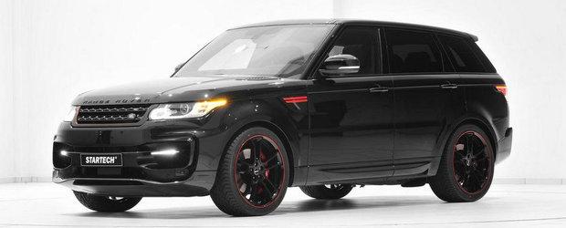 Tuning Land Rover: Startech creste agresivitatea noului Range Rover Sport