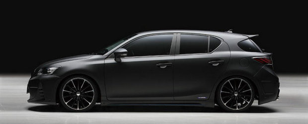 Tuning Lexus CT 200h: Wald International ne arata ca si hibrizii pot fi fiorosi