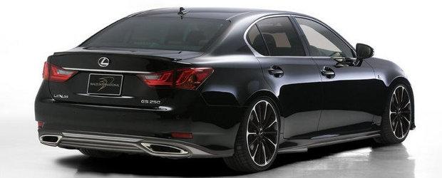 Tuning Lexus: Noul GS F Sport trece de partea intunericului