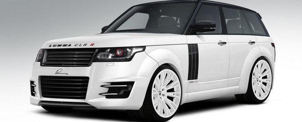 Tuning Lumma: Noul Range Rover primeste un plus de agresivitate tehnica si estetica