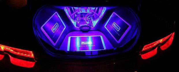 Tuning Magnat: Chevrolet Camaro experimenteaza magia sunetului