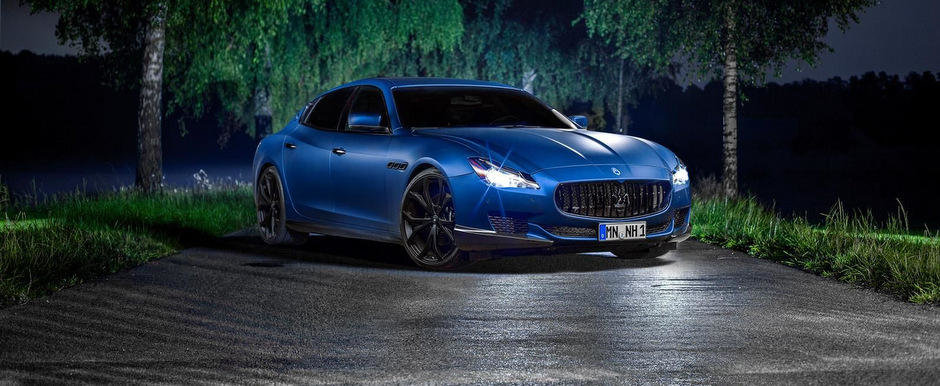 Tuning Maserati: Noul Quattroporte primeste 605 CP pentru lupta cu germanii