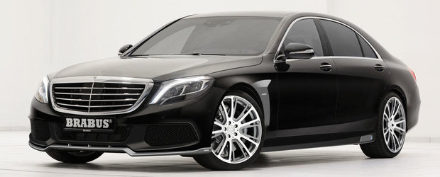 Tuning Mercedes: Accesorii Brabus pentru noua generatie S-Class
