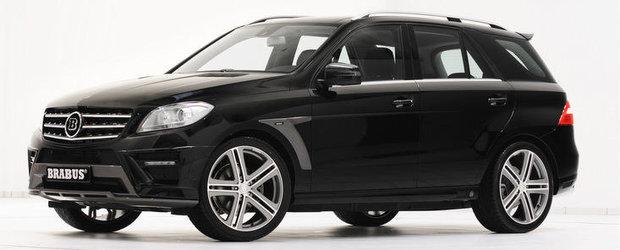 Tuning Mercedes - Accesorii Brabus pentru noua generatie a SUV-ului ML