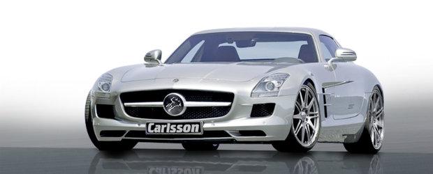 Tuning Mercedes: Accesorii de la Carlsson pentru noul SLS AMG