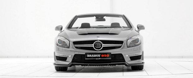 Tuning Mercedes: Brabus indoapa actualul SL63 AMG cu 850 CP si 1.450 Nm