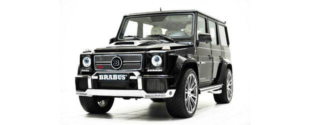 Tuning Mercedes: Brabus ne incanta privirile cu un super-G65 AMG de 800 CP si 1.420 Nm