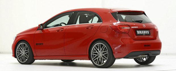 Tuning Mercedes: Brabus se pune pe modificat noul A-Class