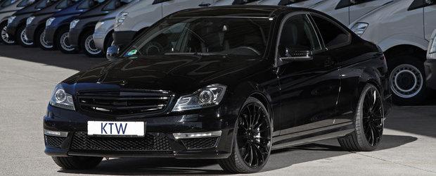 Tuning Mercedes: C63 AMG Coupe trece de partea Intunericului