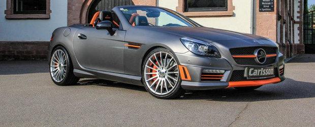Tuning Mercedes: Carlsson ne surprinde cu un SLK55 complet modificat