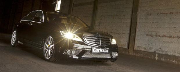 Tuning Mercedes: Carlsson rafineaza limuzina S-Class