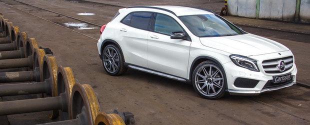 Tuning Mercedes: Carlsson 'retuseaza' noul GLA pentru un plus de sportivitate