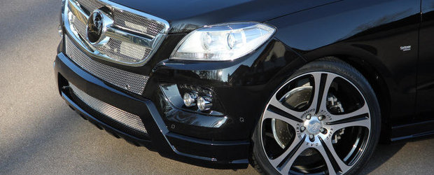 Tuning Mercedes: Carlsson se pune pe modificat noul ML